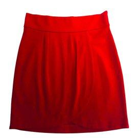 ROCCOBAROCCO-Mini jupe de Roccobarocco-Rouge