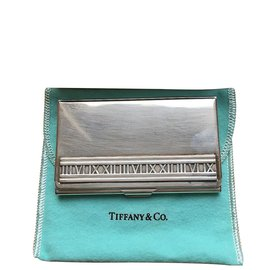 Tiffany & Co-Porte-cartes de visite Tiffany-Argenté