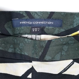French Connection-French Connection Pantalon Slim Taille UK8 FR36 US4-Vert