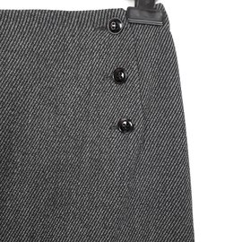 Strenesse-Strenesse Jupe Droite Viscose S Gabriele Strehle-Gris