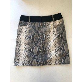 Laurèl-Mini jupe de Laurel-Imprimé python