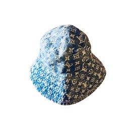 Louis Vuitton-Hats-Blue