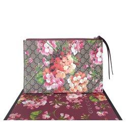 Gucci-Gucci GG Supreme Blooms Pochette-Autre