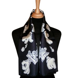 Hermès-Echarpes-Noir