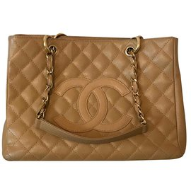 Chanel-Grand shopping-Beige