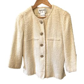 Chanel-Jacket Chanel-Blanc