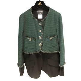 Chanel-Chanel jackket-Green