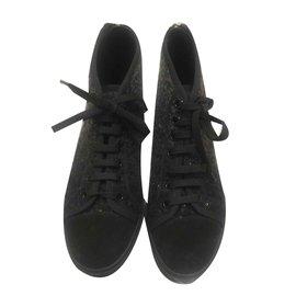 Louis Vuitton-Louis Vuitton women's sneakers-Dark grey