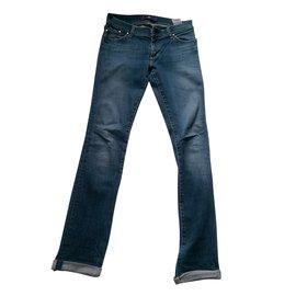 Victoria Beckham-jeans-Bleu