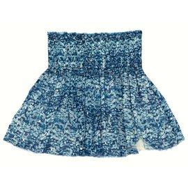 Isabel Marant Etoile-Jupes-Bleu