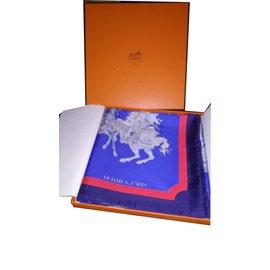 Hermès-CARROUSEL-Bleu