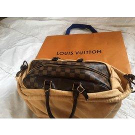 Louis Vuitton-Louis Vuitton Deauville damier ébène ( commande spéciale)-Marron