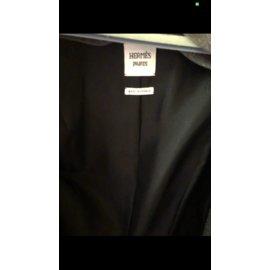 Hermès-Hermès-Gris anthracite