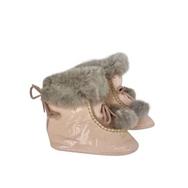 Baby Dior-Boots-Pink,Grey