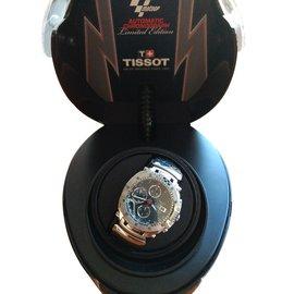 Tissot-MotoGP Automatc Chronograph Limited Edition Schweizer Uhr - sehr selten-Schwarz