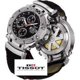 Tissot-Montre suisse MotoGP Automatc Chronograph Limited Edition - très rare-Noir