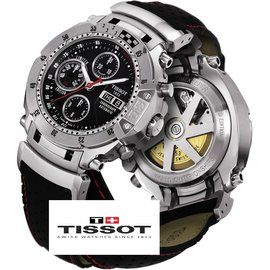 Tissot-MotoGP Automatc Chronograph Limited Edition Swiss Watch - very rare-Black