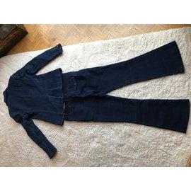 Paul Smith-tailleur pantalon-Bleu Marine