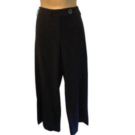 Whistles-Pantalons, leggings-Noir