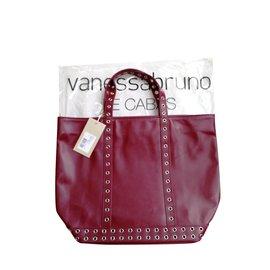 Vanessa Bruno-Cabas Moyen cuir et oeillets couleur rose indien Vanessa Bruno-Rose