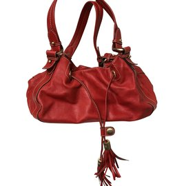 f772d40d9e Lancel-Mischievous Lancel bag-Red ...