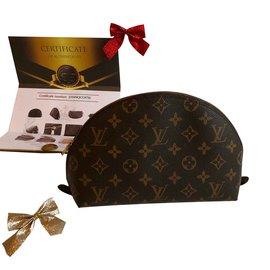 Louis Vuitton-Pochette de toilette-Marron