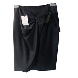 Isabel Marant Etoile-Jupe noir-Noir