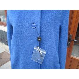 Weekend Max Mara-Coats Lecce-Blue