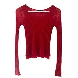 Autre Marque-Top tricoté de Pedro del Hierro-Rouge