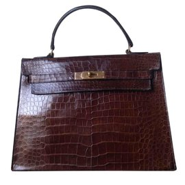 Hermès-kelly-Marron