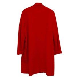 Autre Marque-Manteaux, Vêtements d'extérieur-Rouge
