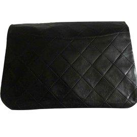 Chanel-Pochette TIMELESS Grande Vintage-Noir