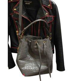 Saint Laurent-Handbags-Grey
