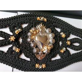 Dolce & Gabbana-Ceintures-Noir