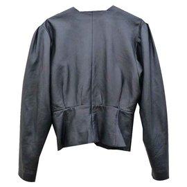 Dior-Manteaux, Vêtements d'extérieur-Noir