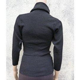 Tricots Noir Laurent Saint Yves Saint Yves IxSwqqa8P