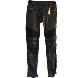 Philipp Plein-Pantalons, leggings-Noir