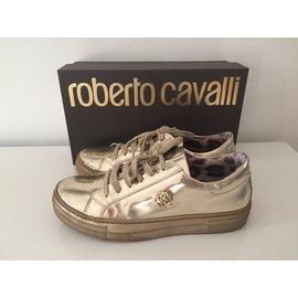 Roberto Cavalli-Baskets-Doré