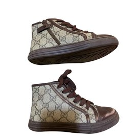 Gucci-Baskets-Marron