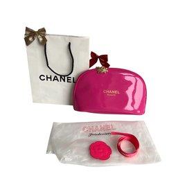 Chanel-Trousse à maquillage grande-Rose