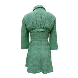 Nina Ricci-Manteaux, Vêtements d'extérieur-Vert
