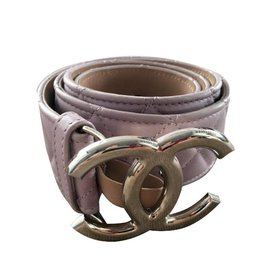 Chanel-Padded belt-Pink