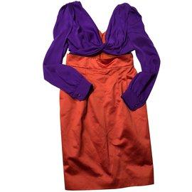Gucci-Robes-Multicolore