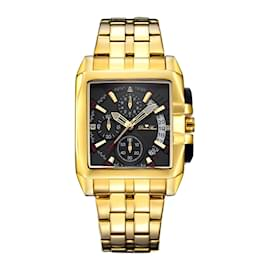Diamstars-DIAMSTARS BRAND NEW MEN'S WATCH-Golden