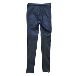 Gucci-Pantalons, leggings-Noir