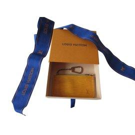 Louis Vuitton-Bourses, portefeuilles, cas-Jaune