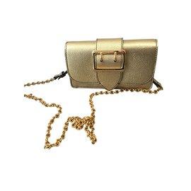 Burberry-Clutch bags-Golden