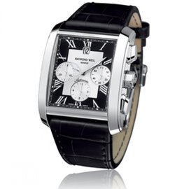 Raymond Weil-RAYMOND WEIL DON GIOVANNI MEN'S AUTOMATIC WRISTWATCH-Black