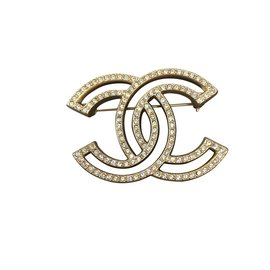 Chanel-Broches et broches-Argenté