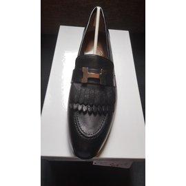 Hermès-Moccasins Royal-Noir